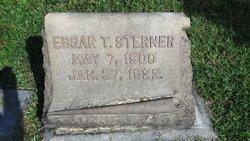 Edgar T Sterner
