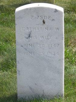 Catharina Wilhelmina <I>Hoszfeld</I> Eyring