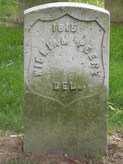 Pvt William Peery