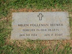 Helen Fay <I>Fogleman</I> Brewer