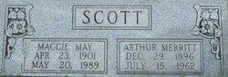 Maggie May <I>Stone</I> Scott
