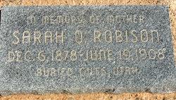 Sarah Oyler Robison