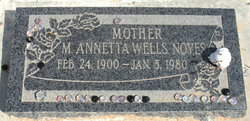 Annetta Wells Noyes