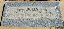 Minnie Lizonbee Wells