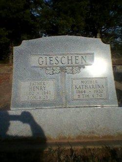 Katarina Anna <I>Brase</I> Gieschen