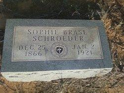Sophie <I>Brase</I> Schroeder