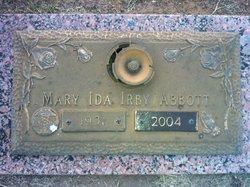 Mary Ida <I>Irby</I> Abbott