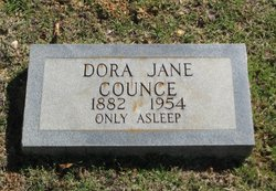 Dora Jane <I>Blakney</I> Counce