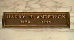 Harry Hayward Anderson