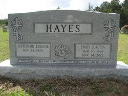 Emily Loretta <I>Ashby</I> Hayes