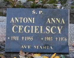 Anna <I>Gęsicka</I> Cegielska