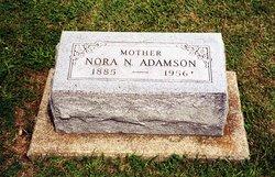 Nora Nancy <I>Phillips</I> Adamson