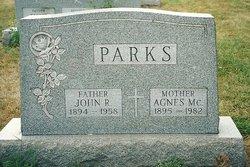 Sarah Agnes <I>McCarroll</I> Parks