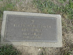 Betty Marie <I>Smith</I> Bottomley
