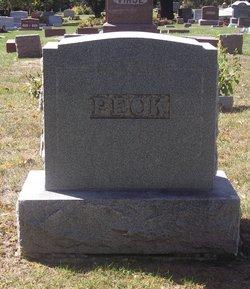 """Clarissa Minerva """"Clara"""" <I>Heaton</I> Peck"""