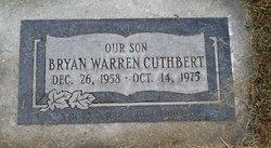 Bryan Warren Cuthbert