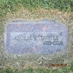 Lucille Sigrid <I>Winquist</I> Stauffer