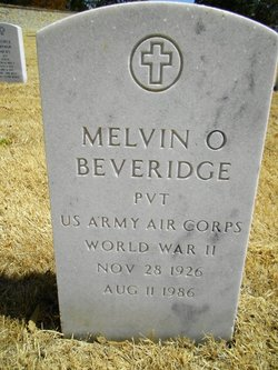 Melvin O Beveridge