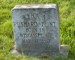 Rena Augusta <I>Pushard</I> Flint
