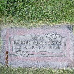 Barbara Liston