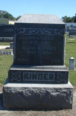John H Kinder