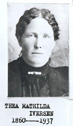 Thea Matilda <I>Iverson</I> Christiansen