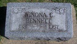 Winona C <I>Hannan</I> Bennett