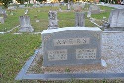 Amanda Jemima <I>Bowers</I> Ayers