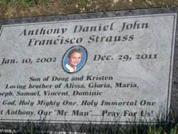 Anthony Strauss (2002-2011) - Find A Grave Memorial