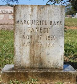 Marguerite <I>Raye</I> Fanett