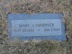 Mary Jane <I>Atkinson</I> Vandiver