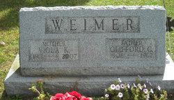 Viola K <I>Baker</I> Weimer
