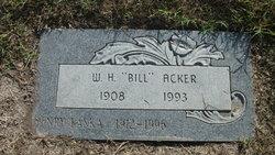 "W. H. ""Bill"" Acker"