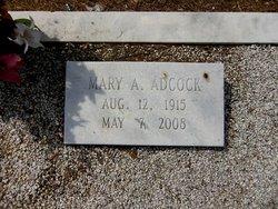 Mary Anne <I>Clegg</I> Adcock