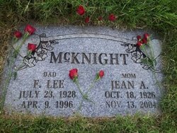 Jean A. <I>Tinker</I> McKnight