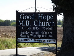 Good Hope Missionary Baptist Church Cemetery