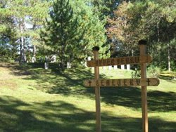 Upper Ferry cemetery