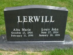 Alta Marie <I>Senior</I> Lerwill