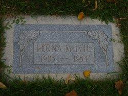 Leona Marie <I>Miller</I> Ivie