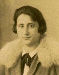 Edith <I>Holländer</I> Frank