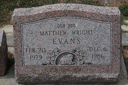Matthew Wright Evans