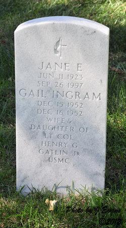 Jane E Gatlin