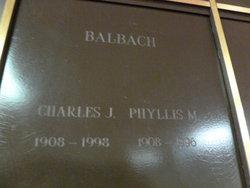 Phyllis M <I>Simmer</I> Balbach