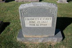 Frances <I>Carlton</I> Cart