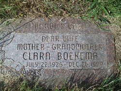 Clara Rosemary <I>Mussche</I> Boekema