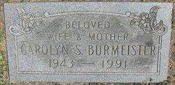 Carolyn Sue <I>Snyder</I> Burmeister