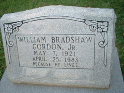 William Bradshaw Gordon, Jr