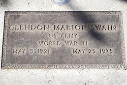 Glendon Marion Swain