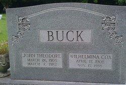 J Theodore Buck