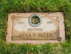 Anna Pauline <I>Nelson</I> Allen